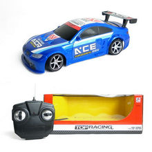 new racing ABS 4ch rc car track designs with CE light