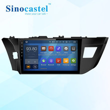Cheap GPS TV Android Car DVD Smart Media Player With Radio FM Audio Video For Toyota Levin 2014