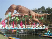 2014 Real size dinosaur -power dinosaur king