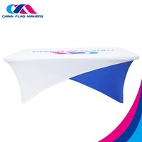 personalize office elastic stretch table cover