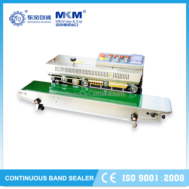 2015 continuous band sealer machine with high quality DBF-810