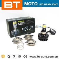 Silent Big Power Fan COB 16W/21W Motorcycle Led Projector Headlights