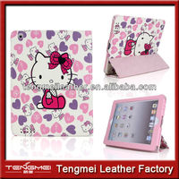 Shock Resistant Hello Kitty Leather Case For Ipad Air,For Ipad Air Hello Kitty Case