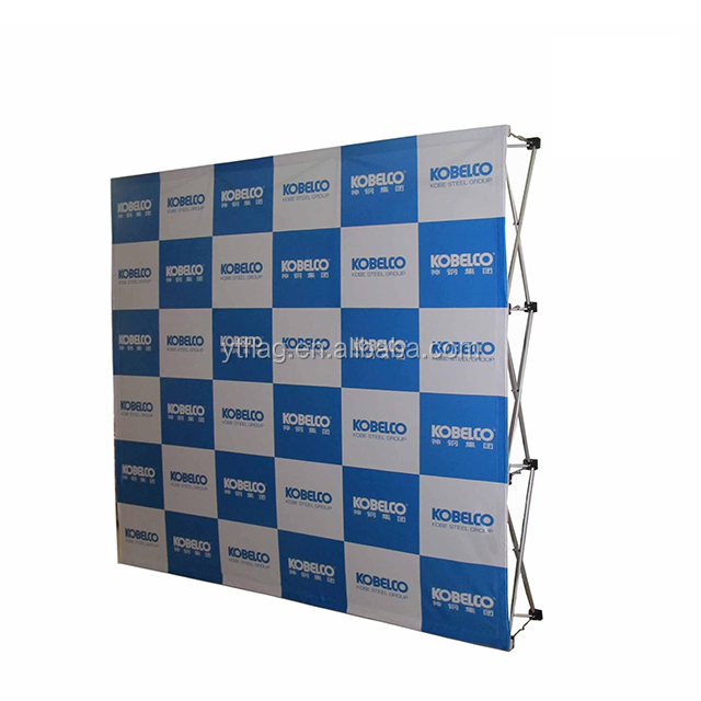 10X10 Wall Aluminum Frame Advertising booth magnetic trade show backdrop <strong>display</strong> pop up stand