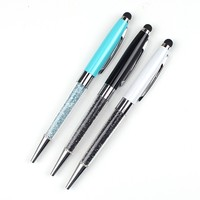 Xinghao high quality crystal metal ballpoint pen touch and stylus pen of promotional item