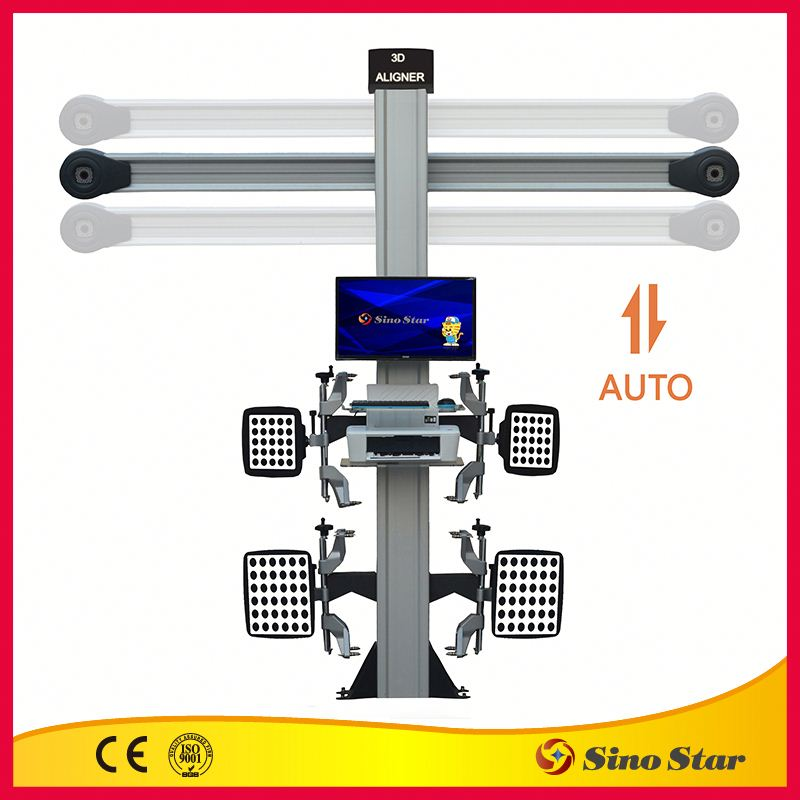 New 3D wheel alignment /garage equipment supplier/ wheel alignment machine by ISO