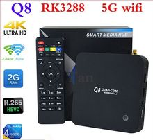 firmware update 4k rk3288 q8 android tv box