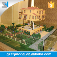 Construction & real estate , architecture house plan, ho scale model