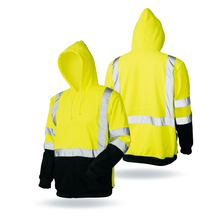 LX907 High Quality Blue High Visibility Reflective Safety Workwear Jacket/Work Clothes