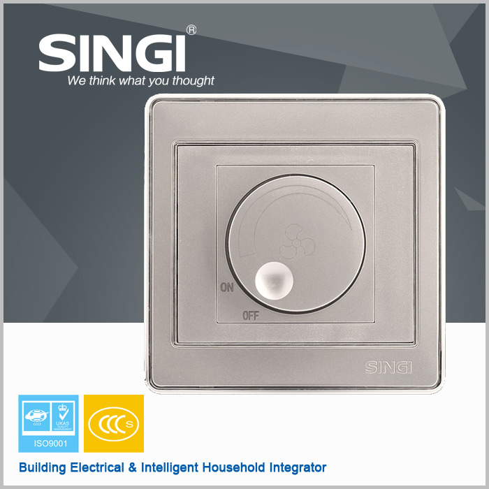 Fan Speed Regulator Fan speed rotary switch electrical ceiling fan regulator wall switch/switch power supply