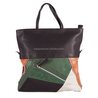 FJ30-059 Black and green women famouse brand business bag