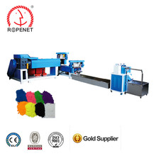 Rope production line used plastic recycling machine