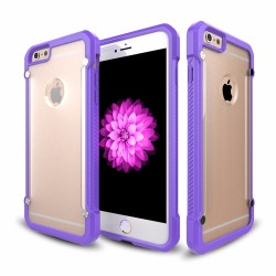 Hard Plastic Transparent Armor Case For iPhone 6s Bumper Case