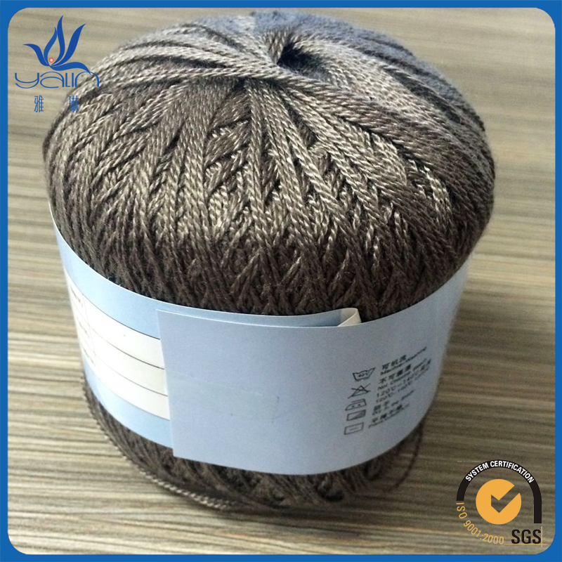 2016 100% cotton mercerized crochet thread and yarn
