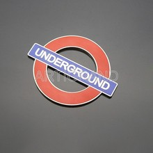 London Underground Railway Label logo