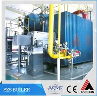 DOSH Certification Automatic Operation 25 Ton Oil Fired Steam Boiler For Turkey Market