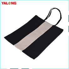 Custom Reusable Polyester Folding Flat Grocery Shopping Bags for Promotional