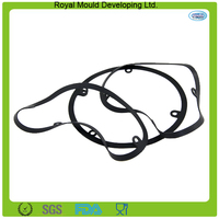 Durable anti-leaking rubber oil proof silicone sealing gasket
