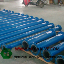 Lining pipe hard using in industry oil and gas equipment