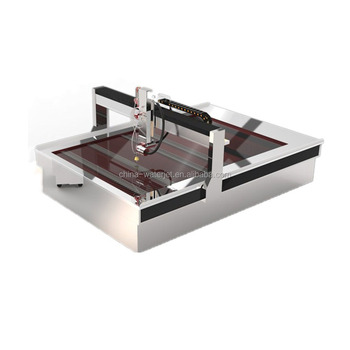 CNC glass/metal/stone water jet machine 3000x2000mm waterjet cutting machine price