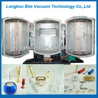 Vacuum Evaporation aluminum Coating Machine/double door chrome plastic coating machine,plastic vacuum metallizing plant