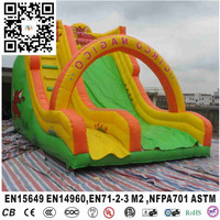 Cute Elephant Giant Amusement Park Inflatable Slip and Slide