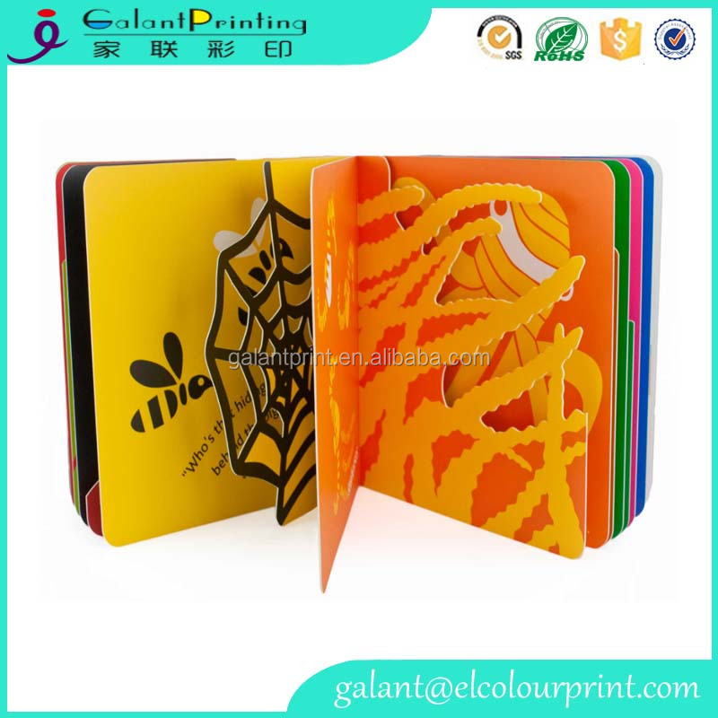 Cheap cardboard children book printng for promotional gift