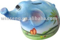 Dolomite Elephant Money Box