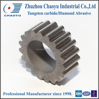 Factory direct! tungsten carbide special parts,tungsten carbide toothed gears