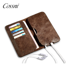 2018 Mobile Cover Cell Phonecase Universal Flip Card Holder Leather Wallet Phone Case For iphone samsung galaxy note8