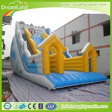 2015 new design inflatable frozen castle combo, inflatable jumping castle