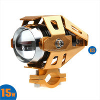 Winuninte New U5 Universal LED Motorcycle Projector Head Lights with Different Housing Colors