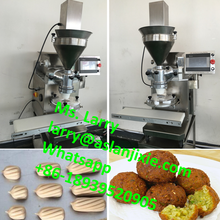 falafel encrusting forming machine/stuffed pillow snacks machine/tulumba making machine