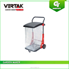 80L Handle garden push rubbish cart 503x550x942.5mm