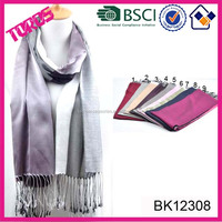 HIGH QUALITY LAD FASHION WITH FRINGES PASHMINA LONG SCARF