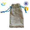 New design eco friendly lowest price cheap promotional white calico cotton net drawstring muslin bags