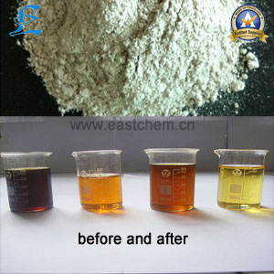 edible oil decolorizing used activated bleaching earth