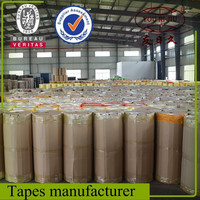 Hot sales density Bopp clear packing tape bopp film and water-based acrylic