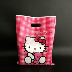 Diversified latest designs new products 2016 die cut plastic shopping bag
