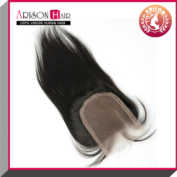 2015 promotion alibaba lowest price best selling cheap hair clousre in aliexpress