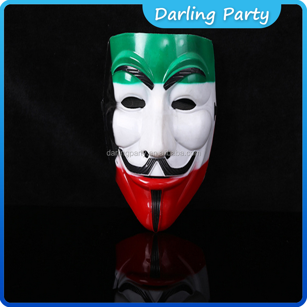 Halloween masquerade Face Masks V For Vendetta Party