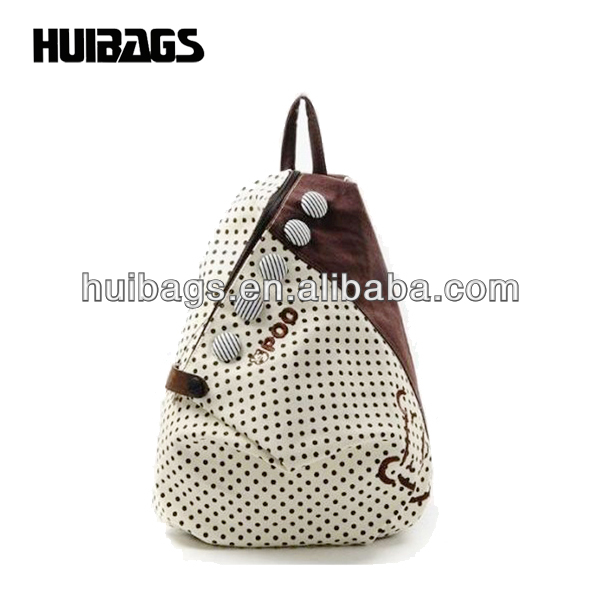 Cute Triangle Backpack School Bag