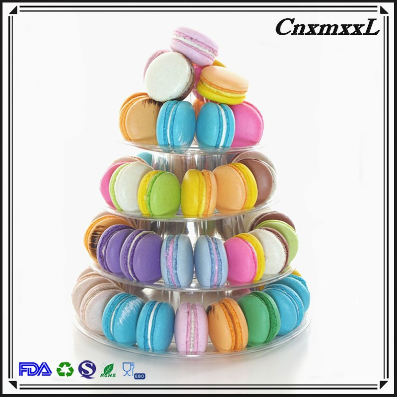 macarons cakes chocolate cookies plastic blister vacuum thermoforing clear display packaging