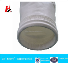 Nonwoven polyester film filtrate bag