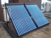 Copper heat pipe solar collector/solar super heat pipe collector /split pressurized solar water heater