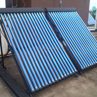 Copper Heat Pipe Solar Collector Solar