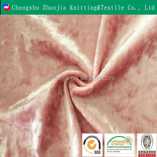 2016 trade assurance china manufacture cheap silk velvet fabric price