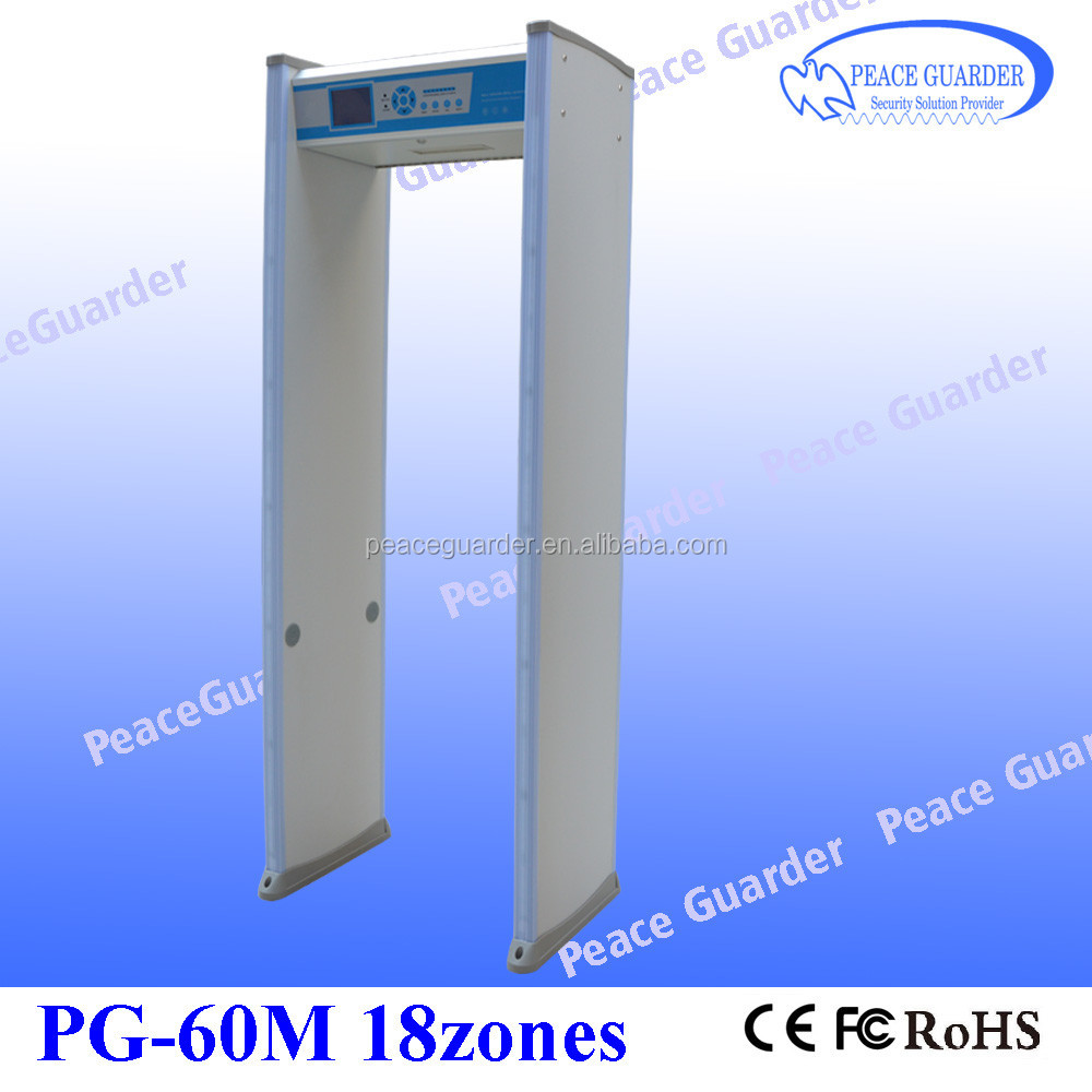 Enhanced Plywood Arched Metal Detector Gate with Power Saving System Adjustable Sensitivity