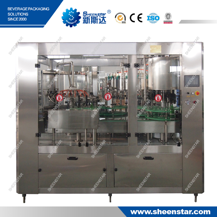 Full Automatic Soda Water Sparkling Water complete carbonated drink production line