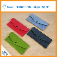 China supplier no minimum order handbags felt bag